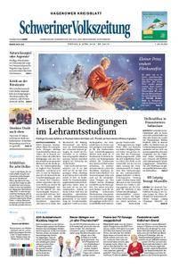Schweriner Volkszeitung Hagenower Kreisblatt - 06. April 2018