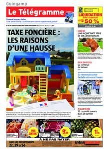 Le Télégramme Guingamp – 24 octobre 2019