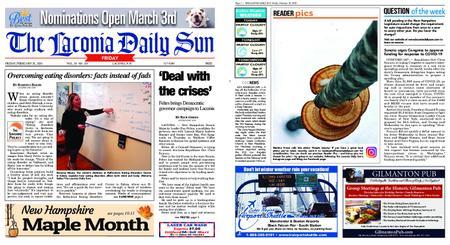 The Laconia Daily Sun – February 28, 2020
