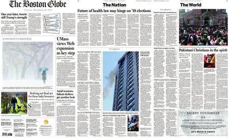 The Boston Globe – December 26, 2017