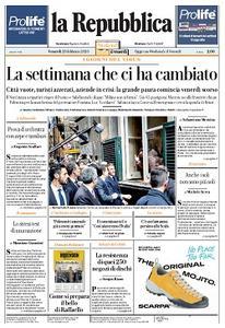 la Repubblica - 28 Febbraio 2020
