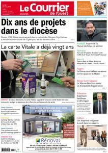 Le Courrier de l'Ouest Angers - 21 mai 2018
