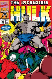 Incredible Hulk 369 1990