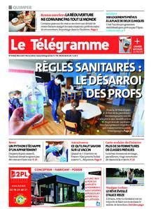 Le Télégramme Quimper – 03 février 2021