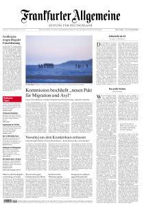 Frankfurter Allgemeine Zeitung - 24 September 2020