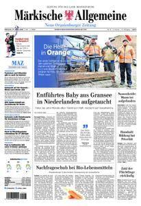 Neue Oranienburger Zeitung - 17. Januar 2018