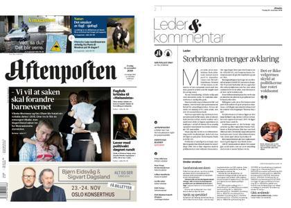 Aftenposten – 15. november 2019