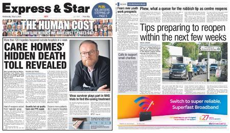 Express and Star City Edition – May 06, 2020