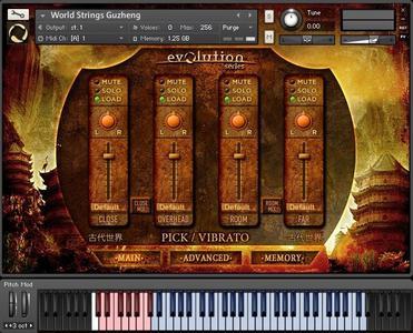 Evolution Series World Strings Guzheng KONTAKT