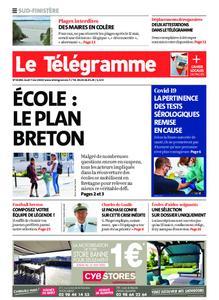 Le Télégramme Ouest Cornouaille – 07 mai 2020