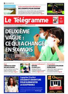 Le Télégramme Quimper – 28 octobre 2020
