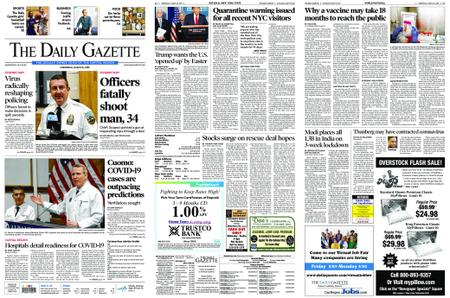 The Daily Gazette – March 25, 2020