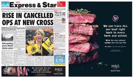 Express and Star City Edition – May 02, 2018