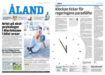 Ålandstidningen – 20 augusti 2018