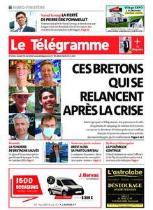 Le Télégramme Brest Abers Iroise – 30 mai 2020