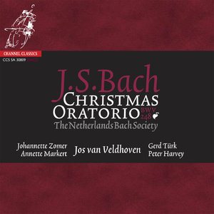 Jos van Veldhoven, The Netherlands Bach Society - Bach: Christmas Oratorio (2003/2009) [Official Digital Download 24bit/192kHz