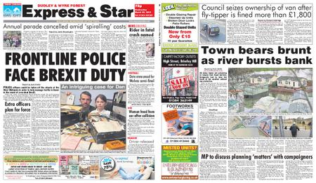 Express and Star Dudley and Wyre Forest Edition – March 20, 2019