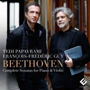 Tedi Papavrami & François-Frédéric Guy - Beethoven: Complete Sonatas for Piano & Violin (2017) [Official Digital Download]