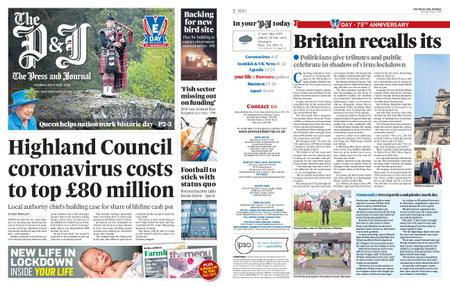 The Press and Journal Moray – May 09, 2020