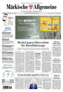 Märkische Allgemeine Luckenwalder Rundschau - 12. April 2018