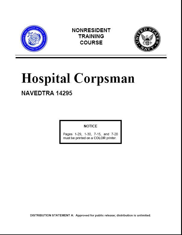 US Navy Hospital Training Course  PDF 574p  11.2Mb