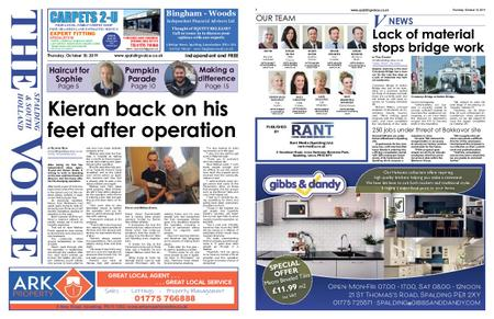The Spalding & South Holland Voice – October 09, 2019