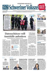 Schweriner Volkszeitung Hagenower Kreisblatt - 18. Oktober 2018