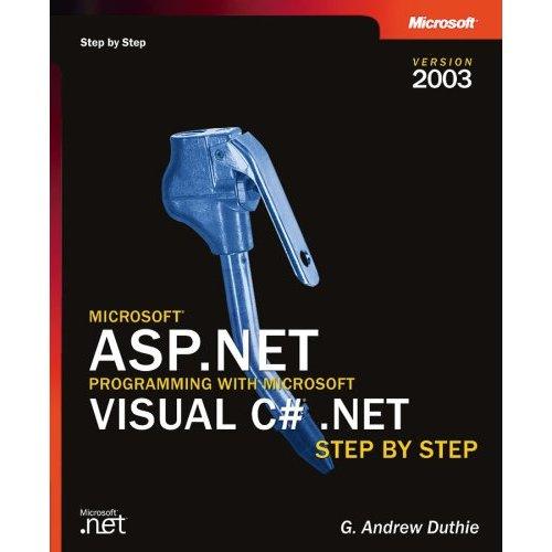 ASP.NET Programming with Visual C#.NET  [Repost]