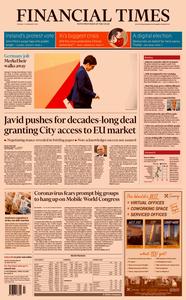 Financial Times UK – 11 February 2020