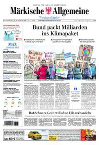 Märkische Allgemeine Westhavelländer - 21. September 2019