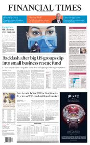 Financial Times Middle East - April 22, 2020