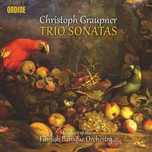 Members of Finnish Baroque Orchestra - Christoph Graupner: Trio Sonatas (2014)