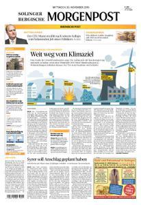 Solinger Morgenpost – 20. November 2019