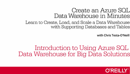 Create an Azure SQL Data Warehouse in Minutes