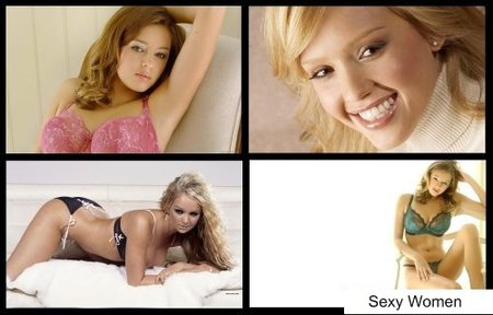Hot & Sexy Women Widescreen HD Wallpapers #14