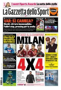 La Gazzetta dello Sport Roma – 04 dicembre 2018