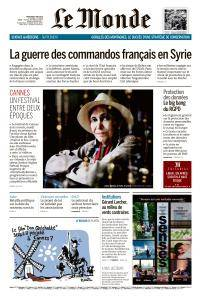 Le Monde du Mercredi 9 Mai 2018