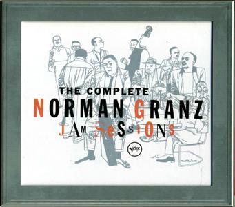 Various Artists - The Complete Norman Granz Jam Sessions (2004) {5CD Box Set Verve B0003252-02 QS01 rec 1952-1954}