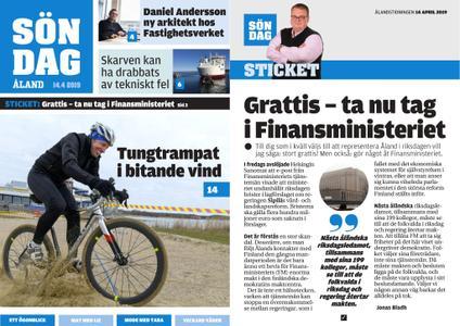 Ålandstidningen – 14 april 2019