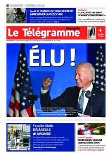 Le Télégramme Quimper – 08 novembre 2020
