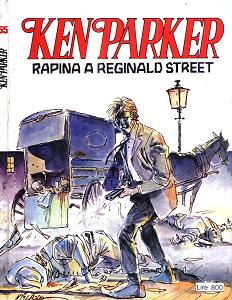 Ken Parker - Volume 55 - Rapina A Reginald Street