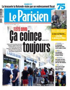 Le Parisien du Lundi 3 Août 2020