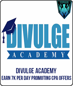 Divulge Academy – Earn 7k Per Day Promoting CPA Offers (2016)
