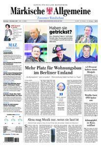 Märkische Allgemeine Zossener Rundschau - 07. November 2017