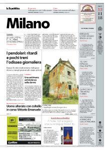 la Repubblica Milano - 13 Novembre 2018
