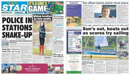 Shropshire Star Shrewsbury Edition – May 09, 2018