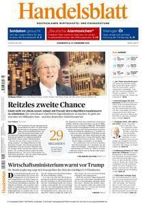 Handelsblatt - 01. Dezember 2016