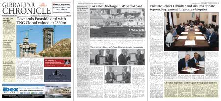 Gibraltar Chronicle – 18 October 2021