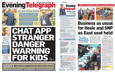 Evening Telegraph First Edition – December 13, 2019