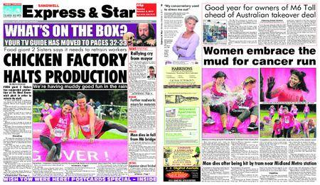 Express and Star Sandwell Edition – October 02, 2017